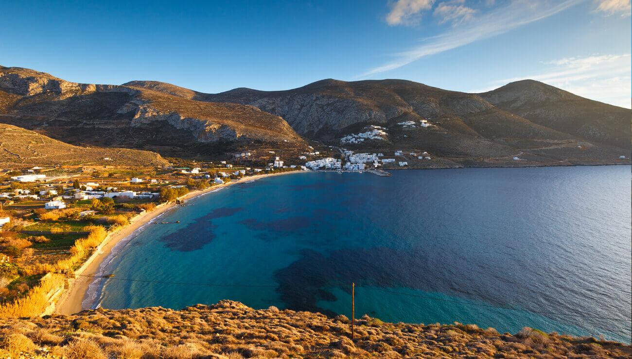 Hiking Melania Amorgos Trails